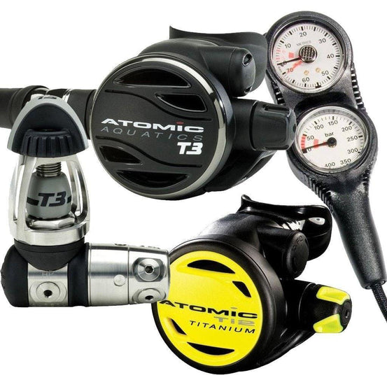 Dive Equipment Packages - Atomic T3 Regulator Package