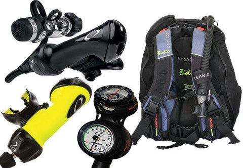 Oceanic Compact Diving Equipment Package - Mike's Dive Store
