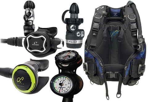 Oceanic Ladies Diving Equipment Package - Mike's Dive Store