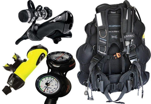 Oceanic Lightweight Diving Equipment Package - Mike's Dive Store