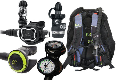 Oceanic Traveller's Diving Equipment Package - Mike's Dive Store