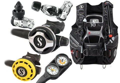 Scubapro Divemaster Diving Equipment Package - Mike's Dive Store