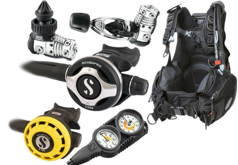 Scubapro Instructor Diving Equipment Package - Mike's Dive Store