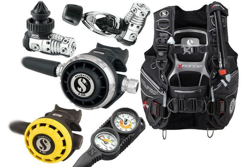 Scubapro Professional Diving Equipment Package - Mike's Dive Store