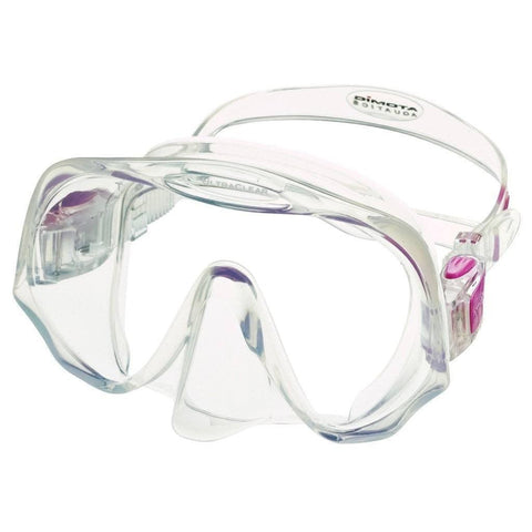 Atomic Frameless Medium Fit Dive MaskBlack/Purple - Mike's Dive Store - 5