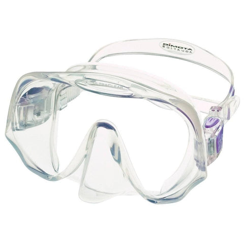 Atomic Frameless Medium Fit Dive MaskClear/Purple - Mike's Dive Store - 6