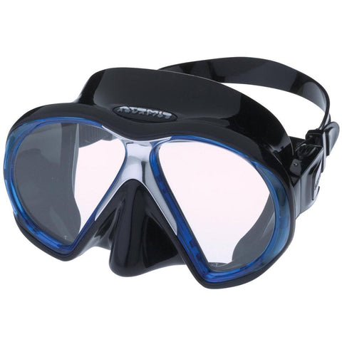 Atomic SubFrame Dive and Snorkel MaskBlue with Black Skirt - Mike's Dive Store - 7