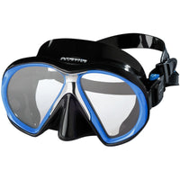 Atomic SubFrame Medium Fit Dive and Snorkel MaskRoyal Blue with Black Skirt - Mike's Dive Store - 4