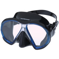 Atomic SubFrame Medium Fit Dive and Snorkel MaskBlue with Black Skirt - Mike's Dive Store - 5