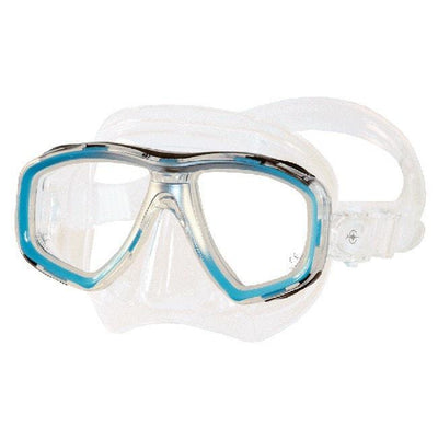 Beuchat Mundial 2 Dive MaskLight Blue - Mike's Dive Store - 1