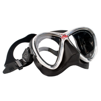Hollis M3 Dive MaskWhite / Black - Mike's Dive Store - 1