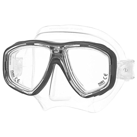 Tusa Freedom Ceos Mask - Black - Mike's Dive Store
