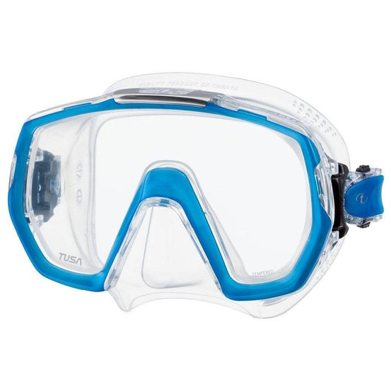Tusa Freedom Elite Mask - Fishtail Blue - Mike's Dive Store