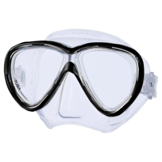 Tusa Freedom One Mask - Black - Mike's Dive Store