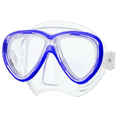 Tusa Freedom One Dive MaskCobalt Blue - Mike's Dive Store - 2