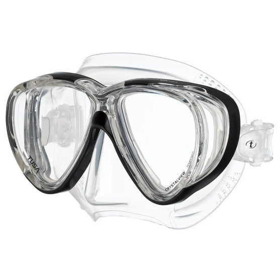 Dive Masks - Tusa Freedom Quad Dive Mask