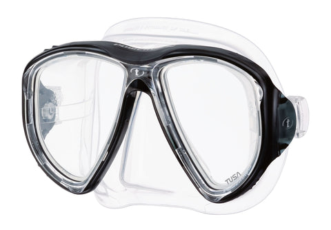Tusa Powerview Dive MaskBlack - Mike's Dive Store - 1