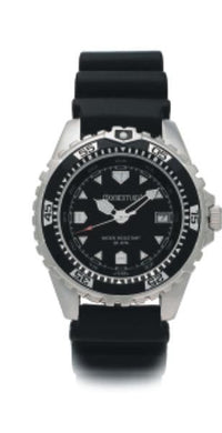 Beaver Momentum M1 Mens Watch Rubber StrapBlack - Mike's Dive Store - 1