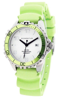 Beaver Momentum M1 Mini Watch with Rubber StrapLime - Mike's Dive Store - 2
