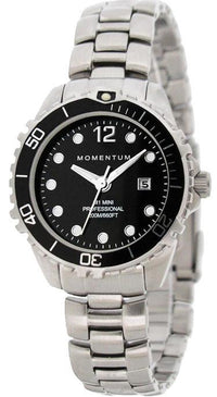 Beaver Momentum M1 Mini Watch with Stainless Steel StrapBlack - Mike's Dive Store - 1
