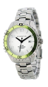 Beaver Momentum M1 Mini Watch with Stainless Steel StrapLime - Mike's Dive Store - 2
