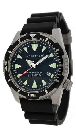 Beaver Momentum M30-DSS Watch with Rubber Strap - Mike's Dive Store