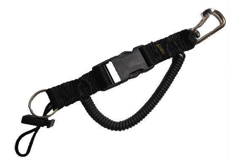 Aqua Tec QC340 Kelvar Lanyard with SS Clip - Mike's Dive Store