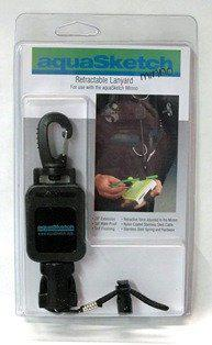 Aquasketch Retractable Lanyard - Mike's Dive Store