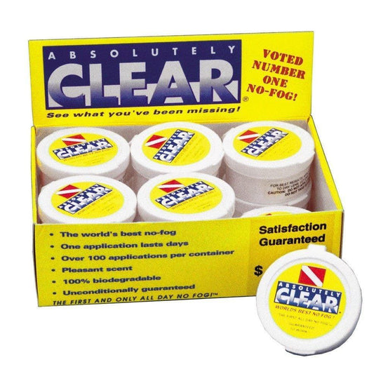 Diving Accessories - ISC Absolutely Clear Mask Defog