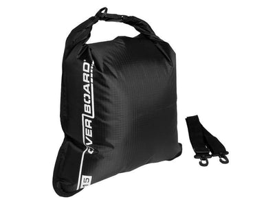 OverBoard 15 Litre Dry Flat BagBlack - Mike's Dive Store - 6