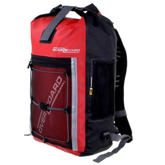 OverBoard 30 Litre Pro-Sports Waterproof BackpackRed - Mike's Dive Store - 6