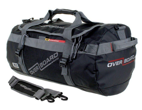 OverBoard 35 Litre Adventure DuffelBlack - Mike's Dive Store - 1