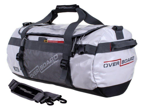 OverBoard 35 Litre Adventure DuffelWhite - Mike's Dive Store - 2