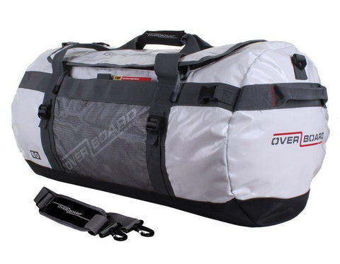 OverBoard 60 Litre Adventure DuffelWhite - Mike's Dive Store - 1