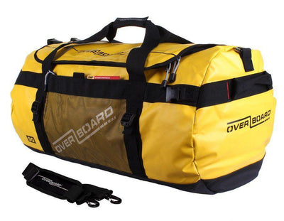 OverBoard 90 Litre Adventure DuffelYellow - Mike's Dive Store - 2