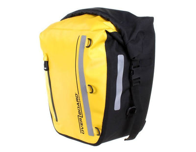 OverBoard Classic Waterproof Bike PannierYellow - Mike's Dive Store - 1
