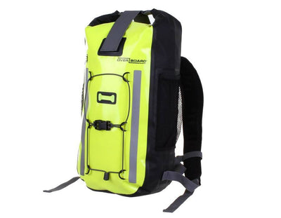OverBoard Pro-Vis Waterproof BackpacksHigh Visibility Yellow / 20 Litres - Mike's Dive Store - 1