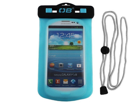 OverBoard Waterproof Small Phone CaseAqua - Mike's Dive Store - 2