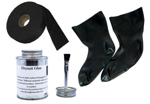 Drysuit Boots and Socks Replacements - Mike's Dive Store