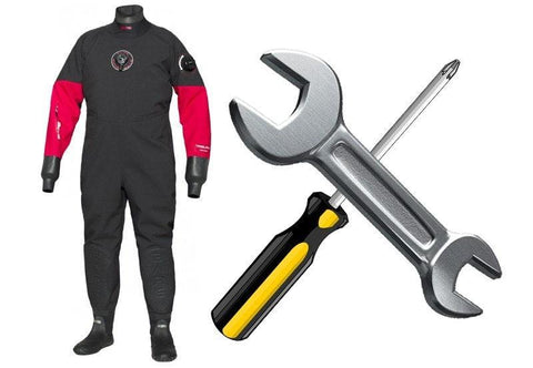 Drysuit Miscellaneous Repairs and Fittings - Mike's Dive Store