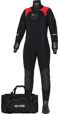 Bare Womens XCS2 Pro Drysuit - Mike's Dive Store - 1