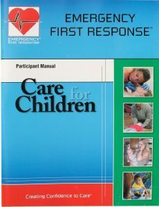 PADI Emergency First Response Care for Children Manual - Mike's Dive Store