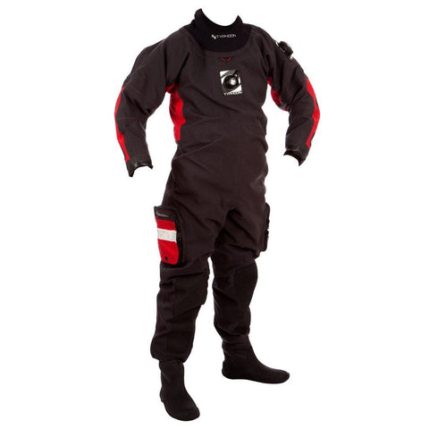 Typhoon Fathom Deluxe Drysuit with I&DV - Mike's Dive Store