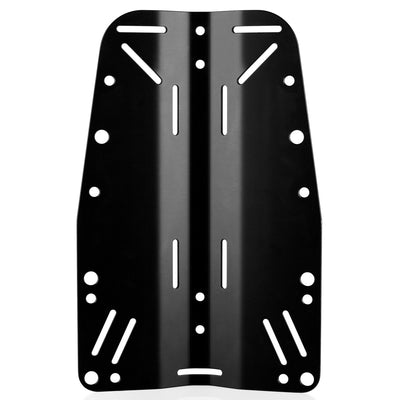 Finnsub Fly Backplate - Aluminium - Mike's Dive Store
