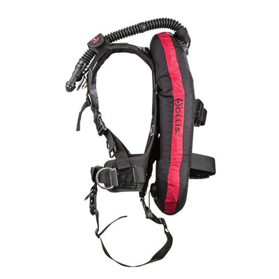 Hollis HTS2 Harness - Side - Mike's Dive Store
