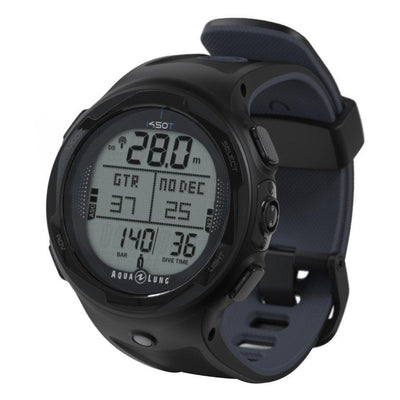 Aqualung i450T Dive Computer - Black - Mike's Dive Store