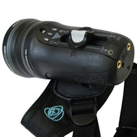 Light and Motion Sola Tech 600 Torch - Side - Mike's Dive Store
