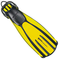 Mares Avanti Quattro Plus Fins - Yellow - Mike's Dive Store
