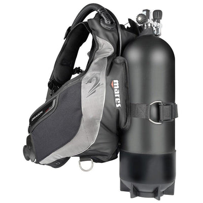 Mares Dragon SLS BCD - Back - Mike's Dive Store
