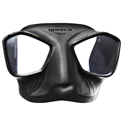 Mares Viper Freediving Mask - Black - Mike's Dive Store